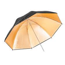 Quantuum Ombrello Fotografico 90cm Oro/Gold Riflettente