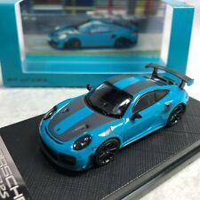 1/64 Porsche Dealer Version Porsche 911 GT2 RS Blue