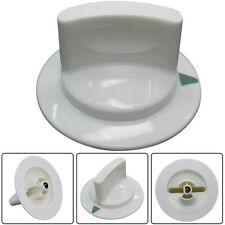 White Dryer Timer Knob Assembly Part for WE1M652 GE Hotpoint D-Shaft AP3995164