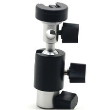 Bracket Flash Shoe Umbrella Holder Swivel Light Stand Flash Mount Bracket Tripod