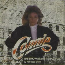 "REBECCA STORM 'THE SHOW (THEME FROM CONNIE)' UK PICTURE SLEEVE 7"" SINGLE"