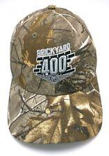 BRICKYARD 400 NASCAR RACE camouflage beige adjustable cap / hat