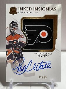 2019-20 The Cup Inked Insignias Ron Hextall 05/25