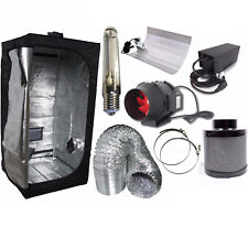 hydroponics best complete indoor grow tent filter fan kit set 250w 400w 600w uk