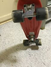 Kryptonics Skateboard/Red/22.5-in/62 mm x 51mm poured polyurethane wheels and car