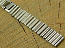NOS Seiko Vintage Unused Base Metal Butterfly Clasp Watch Band 13mm Ladies