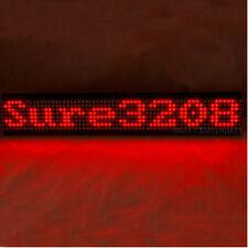 P7.62 32 per 8 3208 ROSSO LED DOT MATRIX unità bordo informazioni tabellone