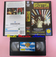 VHS LED ZEPPELIN The song remains same 1991 WARNER GLI SCUDI no cd mc dvd (VM3)