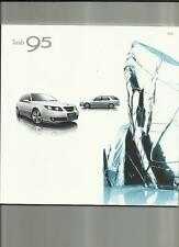 SAAB 95 AERO, VECTOR SPORT,LINEAR SE & AIRFLOW  SALOON/ESTATE SALE BROCHURE 2008
