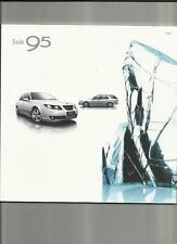 SAAB 95 AERO, VECTOR SPORT,LINEAR SE & AIRFLOW  SALOON/ESTATE SALE BROCHURE 2008