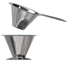 Jonas Traditional Swedish Stainless Steel Tea Strainer