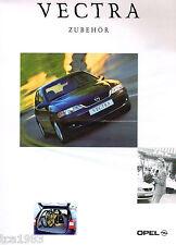 1999 Opel VECTRA ZUBEHOR / Accessories Option's Brochure / Prospekt / Catalog