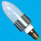 3W LED Bassa Energia Lampadine A Candela 6400K Frigo Luce Bianca E14 B22