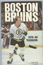 1979-78 Boston Bruins Media Guide Ray Bourque RC Orr