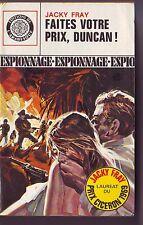 jacky fray - faites votre prix duncan ! / prix ciceron 1969