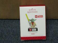 2013 Hallmark Yoda Lego Star Wars Ornament NEW