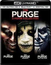 The Purge: 3-Movie Collection (4K Ultra HD)(UHD)(DTS:X)