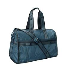 LeSportsac Solid Collection Pop MED Weekender Duffel Bag in Heritage Sky NWT