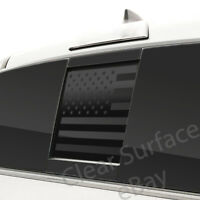 Fits Toyota Tacoma 2016-2021 Back Rear Middle Window American Flag Decal Sticker
