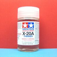 Tamiya #81030 Tamiya Color Acrylic Paint X-20A Acrylic Thinner (46ml)
