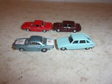Norev 1/86 ECH Micro Miniatures Lot Of 4 Cars - Renault