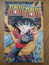 Devil Devil, tome 15 Yuki  Myoshi PIKA MANGA SHONEN ANGE DEMON JUMEAUX COMBAT