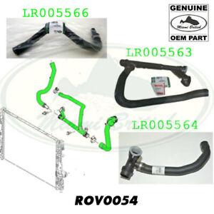 LAND ROVER RADIATOR HOSE SET LR2 3.2L I6 ROV0054 OEM