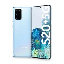 Samsung Galaxy S20+ PLUS 5G SM-G986 12+128GB Dual Sim CLOUD BLUE Smartphone ITA