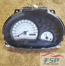 FORD KA, MARK 1, 1996-2008 SPEEDO INSTRUMENT CLUSTER, NON ABS, YS5F 10849 BB