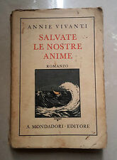 SALVATE LE NOSTRE ANIME VIVANTI 1932