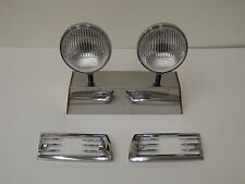 Porsche Hella 118 horn grill fog lights 911 912 with horn grills 65 to 68 SWB