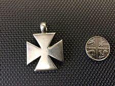 Sterling Silver. 925. Maltese /Templar Silver Cross.
