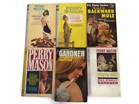 Vintage Pulp Fiction Lot of 6 Perry Mason by Erle Stanley Gardner Lot 11