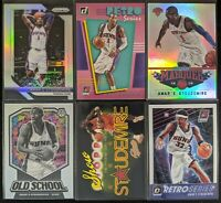 Lot of (6) Amar'e Stoudemire, Including Prizm silver, Marquee & other inserts