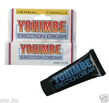 Yohimbe Erection Cream Natural Herbal Stay Hard Penis Enlarger Enhancer Sex Lube