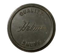 VINTAGE HELME QUALITY SNUFF TIN CAN TOBACCO COLLECTIBLE