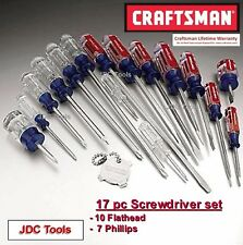 Craftsman 17 pc Screwdriver Set Phillips Slotted 31794 *NEW*
