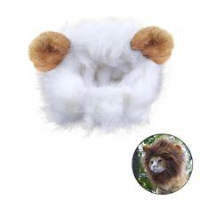 Déguisement pour chat crinière de lion perruque avec scratch