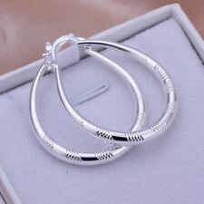 Hot Women 925 Sterling Silver/gold Crystal Rhinestone Ear Stud Earrings Fashion Style 4