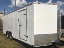 NEW 2019 8.5x24 Enclosed Car Hauler Cargo Trailer w/Radials, Tube Frame
