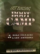 List Building Boot Camp 5 Disc Collection Mike Filsaime & Gary Ambrose
