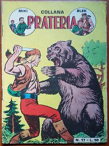 (4) COLLANA PRATERIA  n.  17  - ed. Dardo 1958 -  ottimo