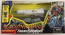 1996 Machine Wars Transformers Soundwave Action Figure!  Still Mint in Box!