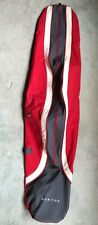Burton Red Gray White Snowboard Cover Bag Carrying Case