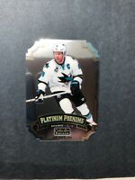 2016-17 OPC Platinum Phenoms Die Cut Joe Pavelski