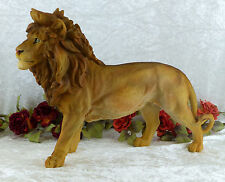 Jardin Personnage XL lion sculpture personnage Tierfigur Afrique Lion Félin Décoration Statue