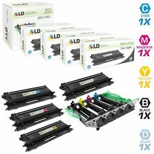 LD Remanufactured Brother TN115 5PK:  DR110CL/TN115BK/TN115C/TN115M/TN115Y