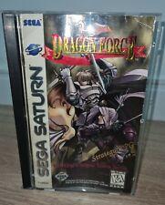 Dragon Force (Sega Saturn, 1996) Complete Tested!