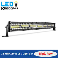 32inch 585W LED Work Light Bar Combo Driving Offroad Bumper Lamp Truck PK 30/34