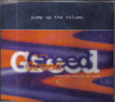 Greed-Pump Up The Volume cd maxi single 7 tracks